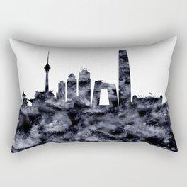 Beijing Skyline China Rectangular Pillow