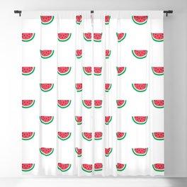 Watermelons Print Blackout Curtain