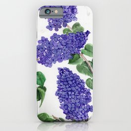Sweet Little Lilacs iPhone Case
