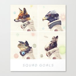 Star Team - Squad Goals Canvas Print