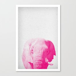 Elephant 02 Canvas Print