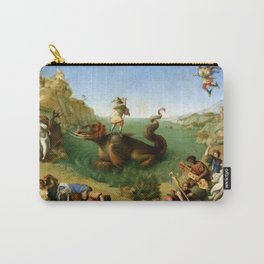 Andromeda Freed by Perseus by Piero di Cosimo (c 1515) Carry-All Pouch