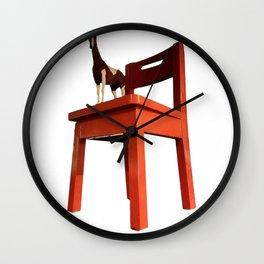 Denver Colorado: Museum of Art Horse Chair Wall Clock