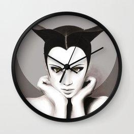 TAURUS WOMAN Wall Clock