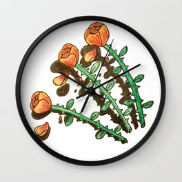 Shady Lady Wall Clock