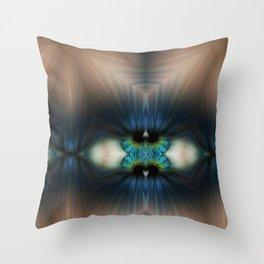 EYE AM Why Throw Pillow