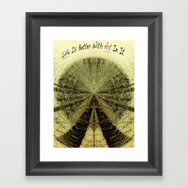 The Right Idea Framed Art Print