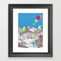 Onboard part 1 Framed Art Print