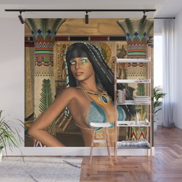 Wonderful egyptian women Wall Mural