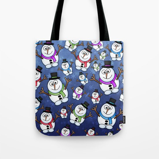 Frosties The Snowmen. Tote Bag