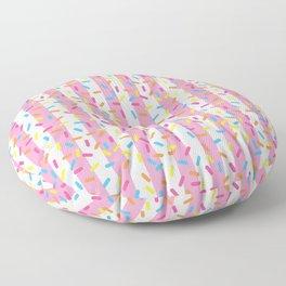 Birthday Ice Cream Party Floor Pillow