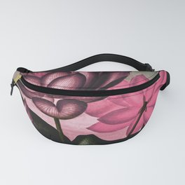 Mauve Pink Sacred Egyptian Bean Temple of Flora Fanny Pack