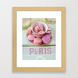 Paris Laduree Macarons Framed Art Print