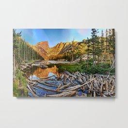 Dream Lake Colorado Metal Print