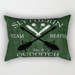 Slytherin Team Beater Rectangular Pillow