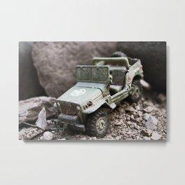 Toy Offroader Metal Print