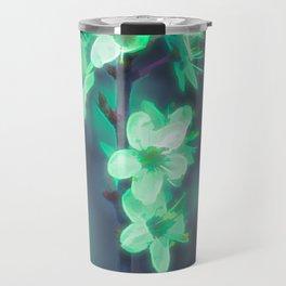 Another World - Glowing Flowers Travel Mug