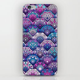 Bohemian Quilt iPhone Skin