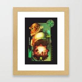 Fallout 76 Framed Art Print