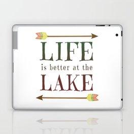 Life Is Better At The Lake - Summer Camp Camping Holiday Vacation Gift Laptop & iPad Skin