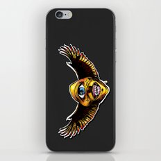 Happy Cycloptic Dog Eagle with a Stache iPhone & iPod Skin