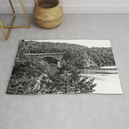 Deception Pass, Washington Rug