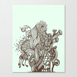 Mint Chocolatey  Canvas Print