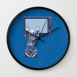 P is for Poltergeist Wall Clock