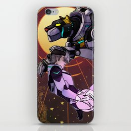 The black lion iPhone Skin