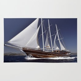 Dolce Vita Sailboat Rug