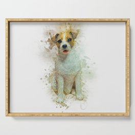 Jack Russell Serving Tray