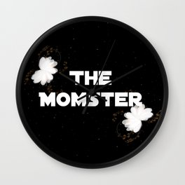 The Momster Wall Clock