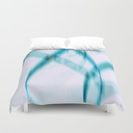 blue line Duvet Cover