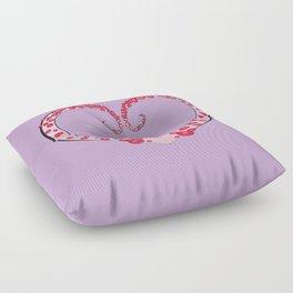 Tentacle Valentine Floor Pillow