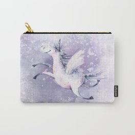 Happy Unicorn Carry-All Pouch
