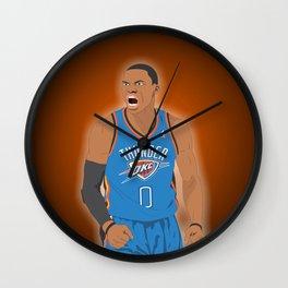 Oklahoma Thunder - Russell Westbrook Wall Clock