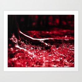 Nook #2 - Kodak AEROCHROME (4x5 film) Art Print