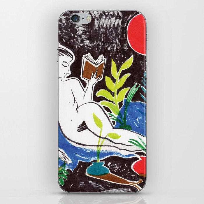 Summer Reading iPhone Skin