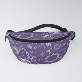 I Need Space (Purple) Fanny Pack