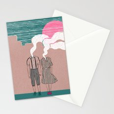 let's vaporize toghether Stationery Cards