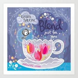 Extra Special Blend Art Print
