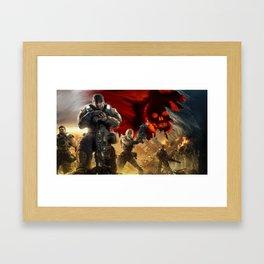 Gears Of War 09 Framed Art Print