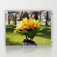 Hillside flower Laptop & iPad Skin