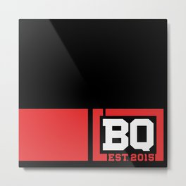 BQ - Flagging Red Metal Print