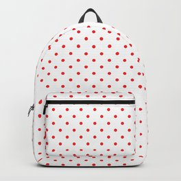 Red dots Backpack