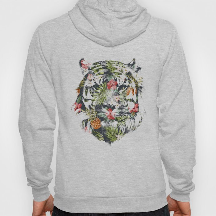 Tropical tiger Hoody