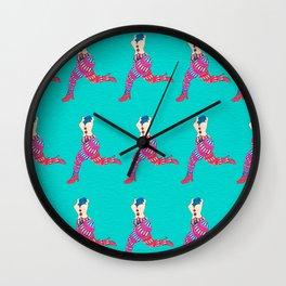 puppet legs Wall Clock