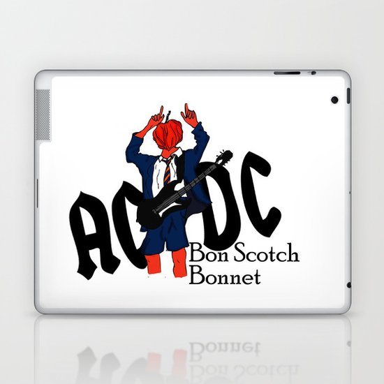 Bon Scot Laptop & iPad Skin