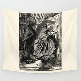 A Beastly Scourge? Wall Tapestry