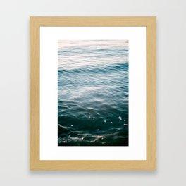 Water Series - Cape May, NJ Framed Art Print